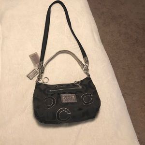 Black coach crossbody bag
